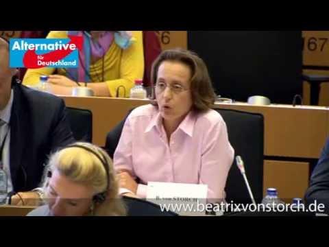 Beatrix von Storch - 30.09.3014 - Anhörung von Dimitris Avramopoulos