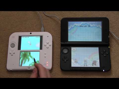 Nintendo 2DS vs 3DS Comparison: Screen Gap