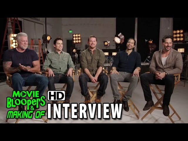 Magic Mike XXL (2015) Behind the Scenes Movie Interview - Group Interview