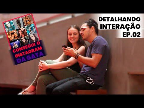 Como fazer uma conversa ficar natural (Com uma Linda mulher) | Detalhando Interação Ep.02 Vídeos de zueiras e brincadeiras: zuera, video clips, brincadeiras, pegadinhas, lançamentos, vídeos, sustos