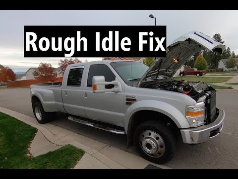 6.4 Powerstroke Rough Idle Fix! Complete How-to Instructions