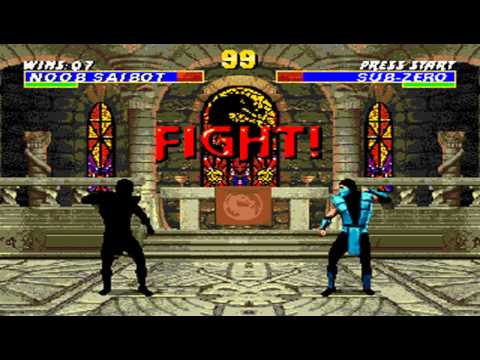 Ultimate Mortal Kombat 3 Noob Saibot