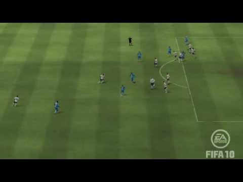 Fifa 10 Wigan vs Tottenham Hugo Rodallega goal Video