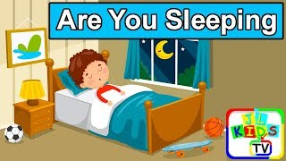 Are You Sleeping with Lyrics | Kids Songs, Baby Nursery Rhymes, Bedtime Songs for Toddlers