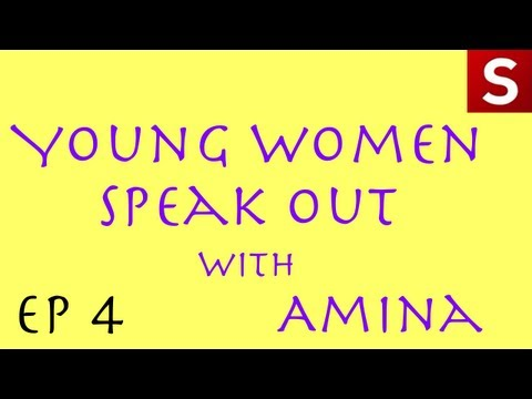 Caribbean feminist activist Malaika Brooks-Smith-Lowe! Young Women Speak Out - Amina Doherty