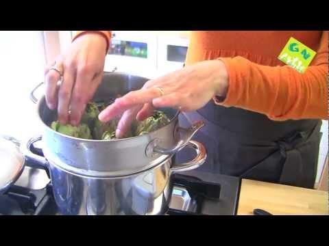 Receta de humus con alcachofas al vapor - Cocina macrobiótica - Raquel Magem - generacionnatura.org