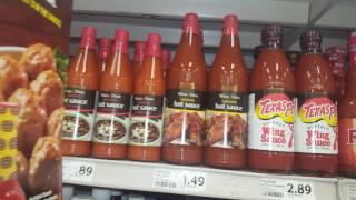 США: острые соусы, горчица, хрен, кетчупы. Обзор и цены.