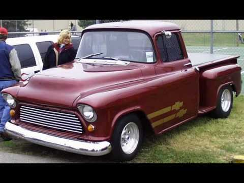 Tri five Chevrolet Pickup Trucks Music Videos