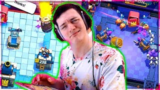 BRAWL STARS in CLASH ROYALE = VERY WEIRD DAY.... Yikes!