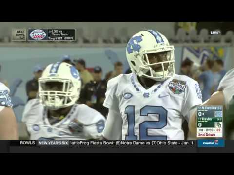 North Carolina vs Baylor 12.29.2015 Russell Athletic Bowl 2015