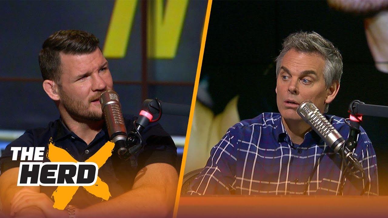 Michael Bisping talks UFC 217, Conor McGregor and more with Colin Cowherd   THE HERD