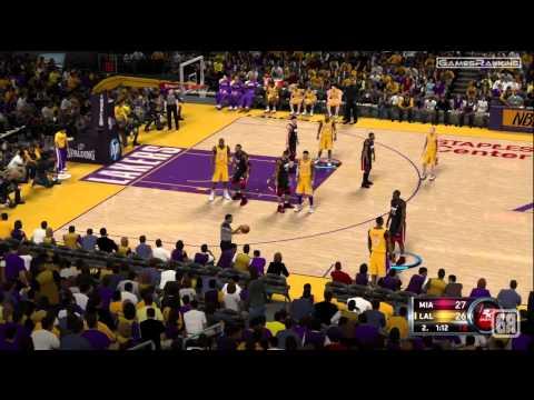 NBA 2K12 - Los Angeles Lakers vs. Miami Heat - Gameplay HD