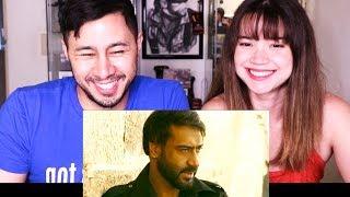 BAADSHAHO | Ajay Devgn | Official Trailer | Reaction!