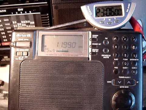 RADIO CANADA INTERNACIONAL IN SPANISH ON 11990 KHZ  SHORTWAVE