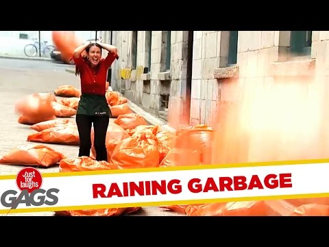 It's Raining Garbage!