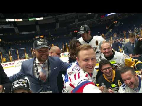 Евгений Малкин с друзьями отмечает победу в Кубке Стэнли. Часть 2