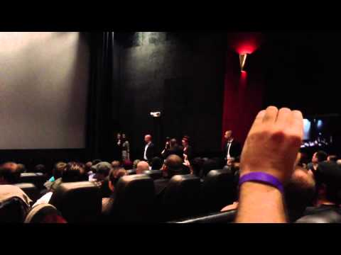 5/22 - Brad Pitt Surprise Appearance at World War Z screening!