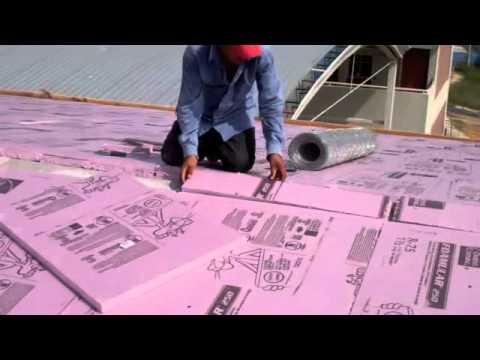 Cual es el mejor aislante termico para techos