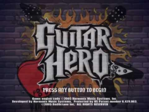 Guitar Hero (PS2 Gameplay)
