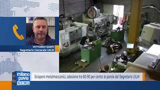 Sciopero metalmeccanici, adesione tra 60-90 per cento: le parole del Segretario UILM
