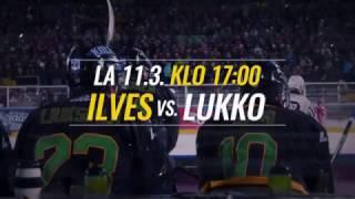 Ilves - Lukko lauantaina 11.3. klo 17.00
