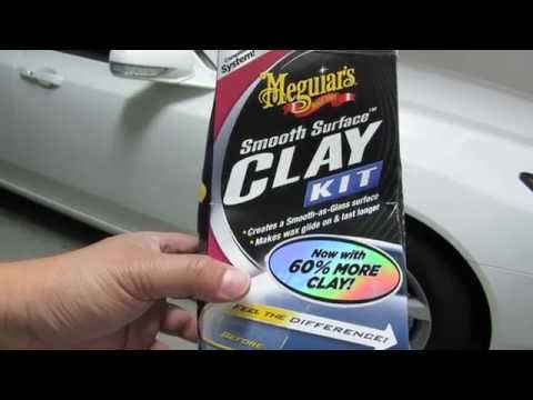 Review of the Smooth Surface Meguiars Clay Kit