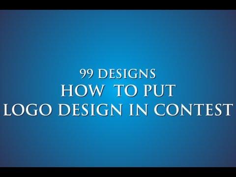 99 designs - how to put logo design in contest