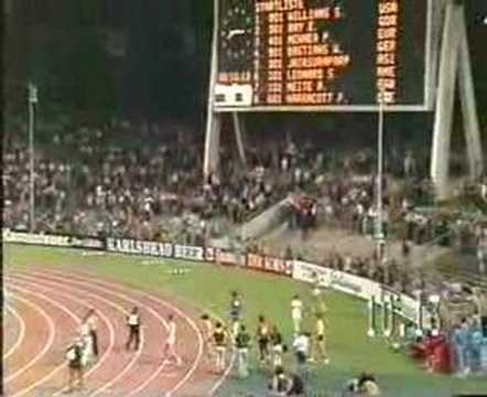 1977 World Cup Mens 100m - Steve Williams