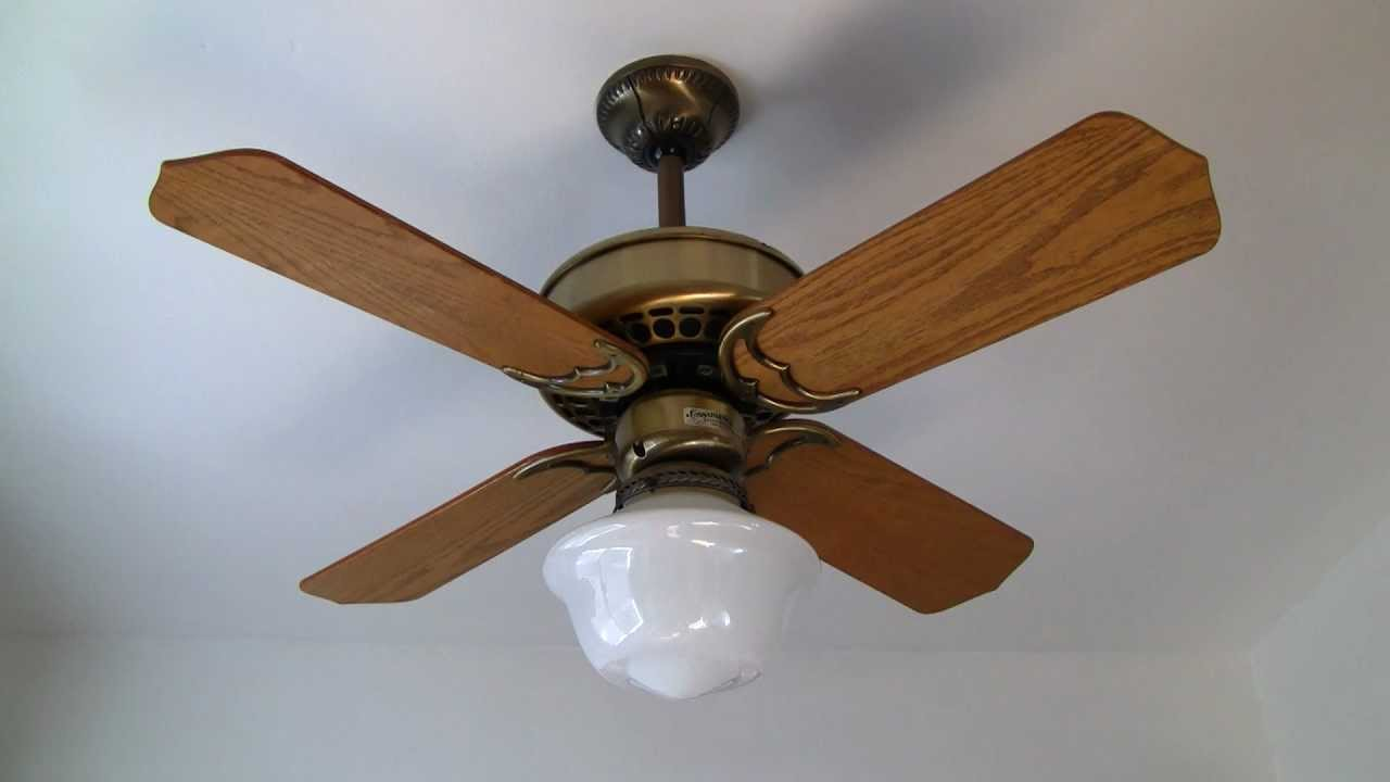 Casablanca Four Seasons Ceiling Fan Youtube