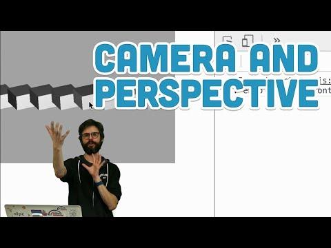 18.5: Camera and Perspective - WebGL and p5.js Tutorial