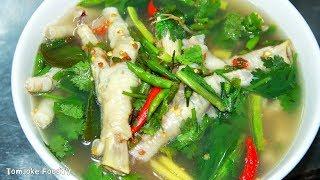 ซุปเปอร์ตีนไก่ สูตรง่ายๆ หอมแช่บตีนเปื่อยๆ Spicy Chicken Soup