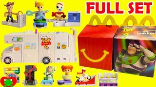 2019 Toy Story 4 McDonald's Happy Meal Toys Full Set with Build Your Own RV