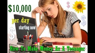 How To Make Money Online Fast And Free 2017 Make $10,000 Daily And More