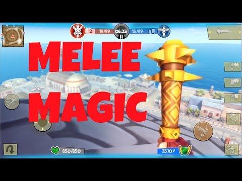 Blitz Brigade Melee Magic