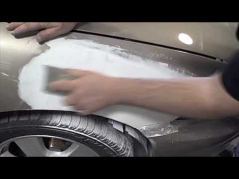 Audi Matte Effect Blue Paint on Auto Body Training    How To Apply  3m  Finishing Glaze To Repair  3m