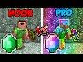 Minecraft NOOB vs. PRO: EMERALD BATTLE in Minecraft!