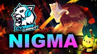 NIGMA vs Cyber Legacy - EU vs CIS CRAZY LEAGUE - ESL Los Angeles 2020 DOTA 2