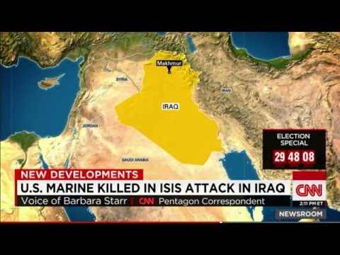 U.S. Marine Killed In ISLAMIC STATE Attack In Iraq - U.S. Firebase Operations Commencing