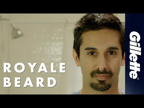 Gillette Shaving Guide: How to Shave the Royal Beard