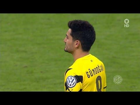 Ilkay Gündoğan vs Bayern Munich (A) DFB Pokal 14-15 | HD 720p (28/04/2015)