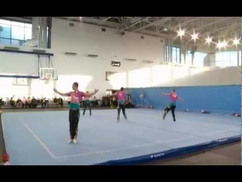 Чемпионат ЮФО по спортивной акробатике в Краснодаре