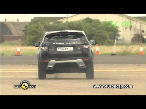 Euro NCAP | Range Rover Evoque | 2011 | Электронный контроль устойчивости