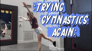 Trying Gymnastics Again (WK 410.4) | Bratayley