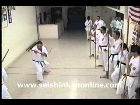 Sherman Harrill Isshin-Ryu Bo Fighting Techniques 1 Image 1