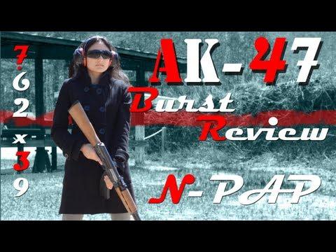 Century Arms - N-PAP Gen 2 AK-47 - Burst Review!