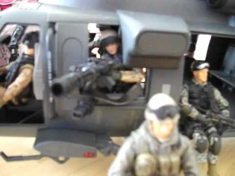 bbi ELITE FORCE MH-60 NIGHT RAID BLACK HAWK REVIEW - YouTube