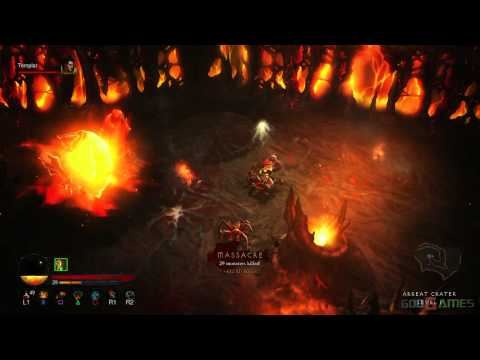 Diablo 3 PS3 Walkthrough 1080p – Normal ACT 3 Barbarian female AndrissGG Part 3
