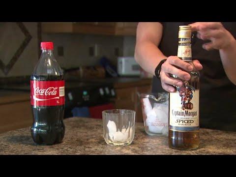 Cold drink aur alcohol.