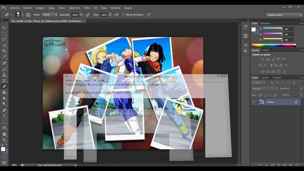 Как сделать коллаж на фотошопе cs6