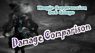 Aion - Damage Comparison (AP-set vs. MS-set)